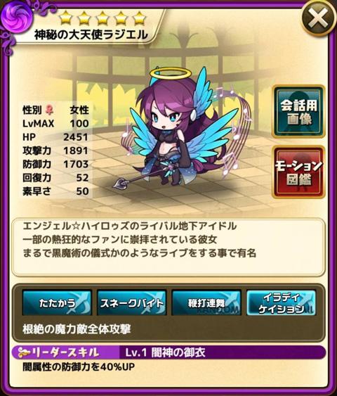 神秘の大天使ラジエル