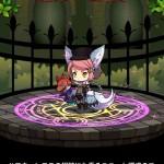 ハロウィンユニット育成 遊鏡の幻メリー&暗夜の響モリーに激レア進化!