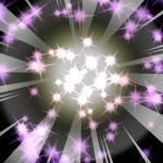 祝400万DL記念ガチャで最強募集の貼紙が2連発!紫と虹色の光のその先には…